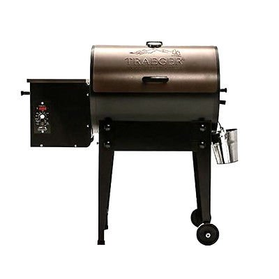 Traeger BBQ 155.01 Bronze Tailgater Pellet Grill