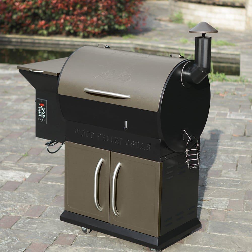 YOYO 684 Wood Pellet Grills BBQ Garden Essential