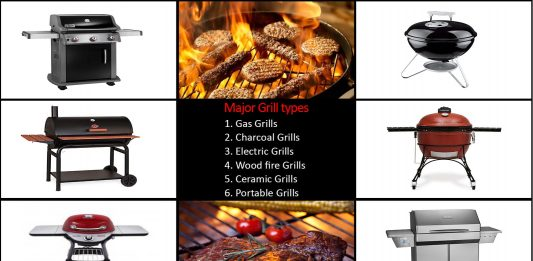 6 Major Types of Grills: Which One Do You Want?
