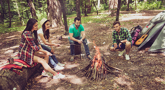 cooking over a campfire: A Campfire BBQ Can Be More Than Just Your Cooking Apparatus