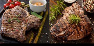 Difference between T-bone and Porterhouse steak
