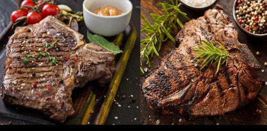5 Surprising Differences between T-Bone & Porterhouse Steak