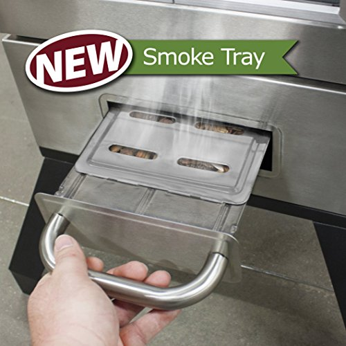 best electric smoker; Smoke tray- A feature that creates value