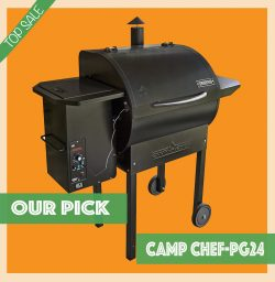 Camp Chef PG24 Pellet Grill and Smoker BBQ with Digital Controls top sale