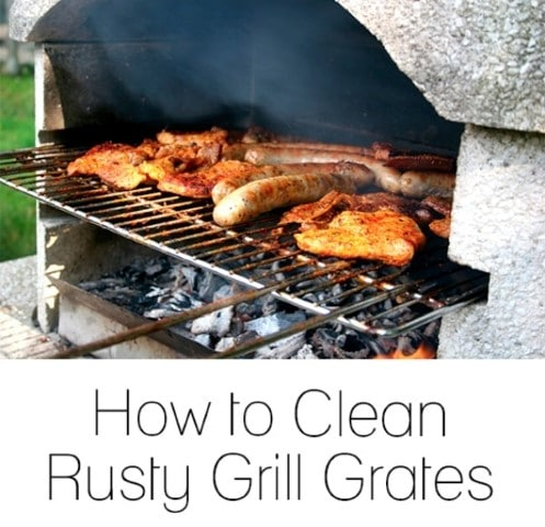 best way to remove rust: cleaning rusty grill grates