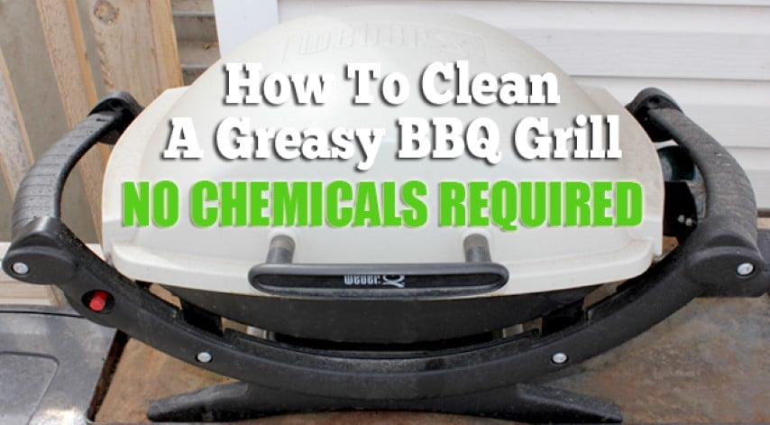 best way to remove rust: cleaning greasy BBQ grill