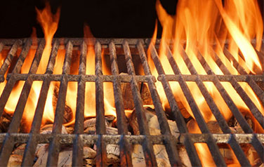 grill rust: Why does a stainless steel grill/cast iron steel rust