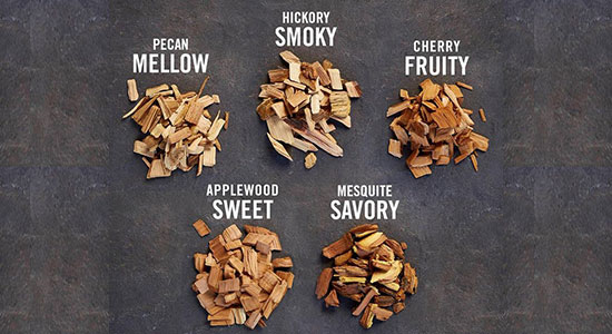 How to use smoker chips: Choose Your Wood Flavor