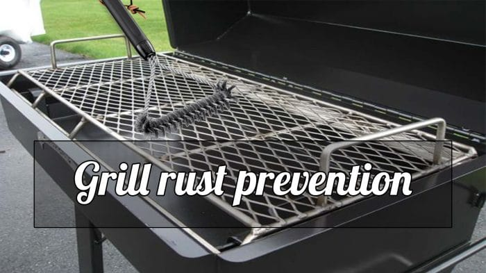 best way to remove rust: Grill rust prevention