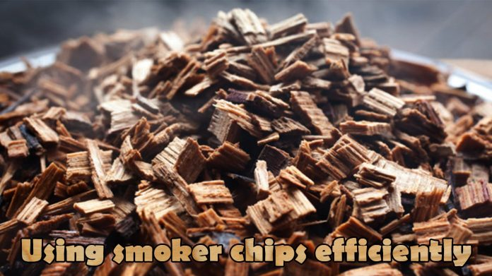Using smoker chips