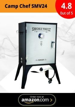 Our Pick: Camp Chef Smoker 24″ Smoke Vault (SMV24)