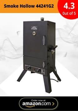 Smoke Hollow 44241G2 44-Inch Vertical Propane Gas Smoker
