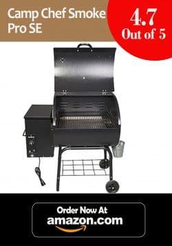 Budget Pick + Beginners Choice: Camp Chef Smoke Pro Se Pellet Grill, Black