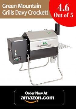 Best Portable: Green Mountain Grills Davy Crockett Pellet Gril