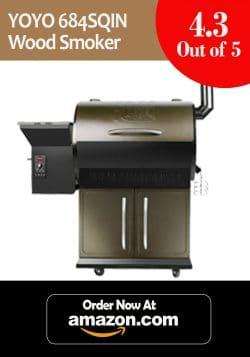 10. YOYO 684 Wood Pellet Grills BBQ Garden Essential YPG-700A-1