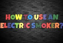 how to use an electric smoker: