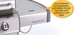 Weber Genesis 6531001 E-330 : side shelf, side shelves