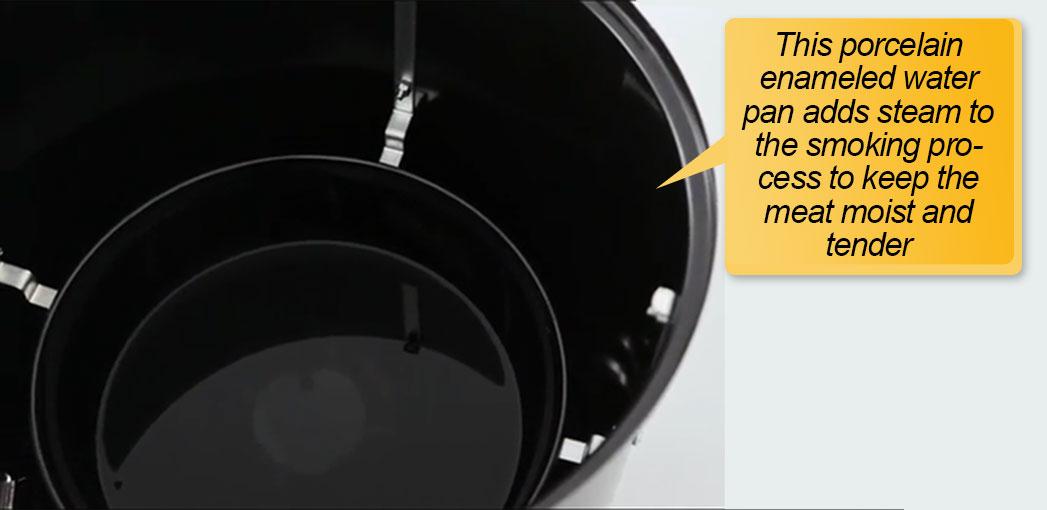 Weber 18 Inch Smoker: water pan