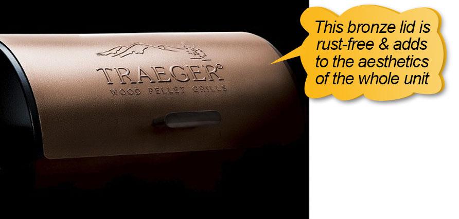 Traeger Pellet Grills BBQ155.01: Bronze lid