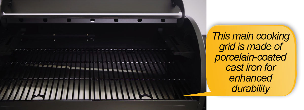 Louisiana Grills LG 900 Review: main cooking grid
