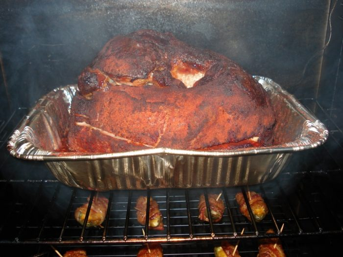 how to smoke a ham in a smoker