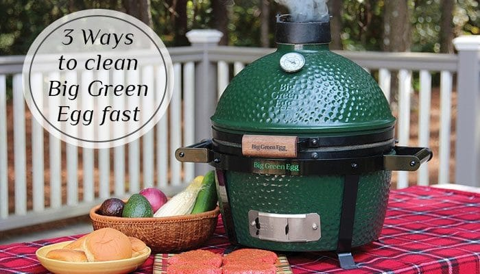 cleaning the big green egg: It's not that hard if you know how to do so