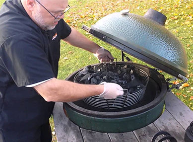cleaning the big green egg: Basic cleaning is a must!
