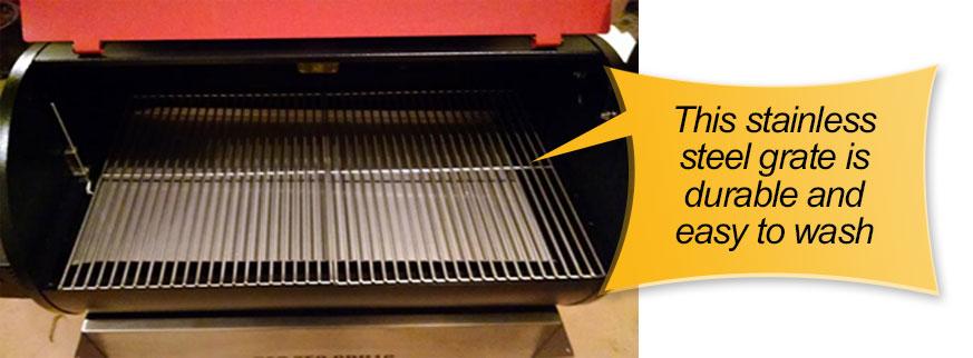 REC TEC Pellet Grill : grates, cooking grid