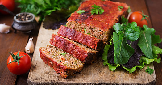 cooking ground turkey: Bake meatloaf easily with this type