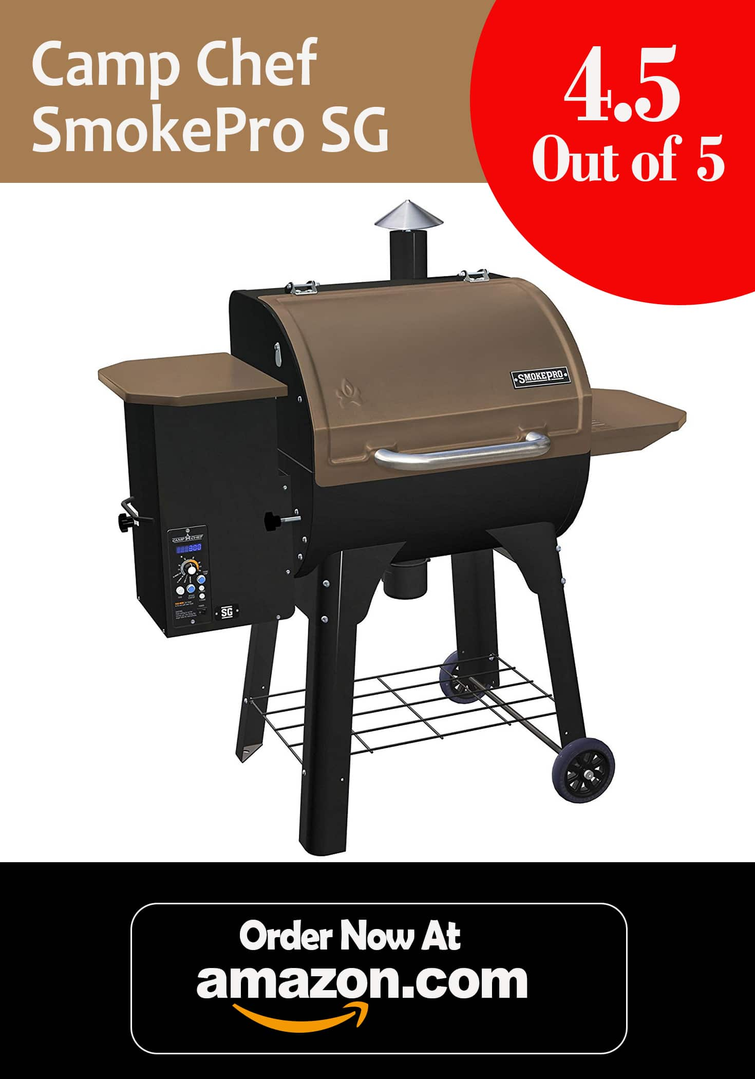 Camp Chef SmokePro SG Wood Pellet