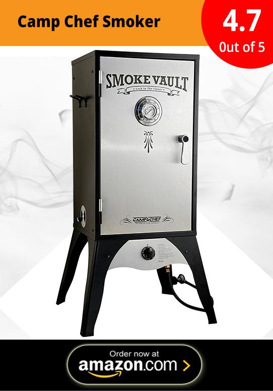 Camp Chef Smoker 18-Inch Smoke Vault Large