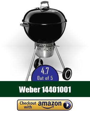 Weber 14401001 Original Kettle Premium Charcoal Grill, 22-Inch, Black review