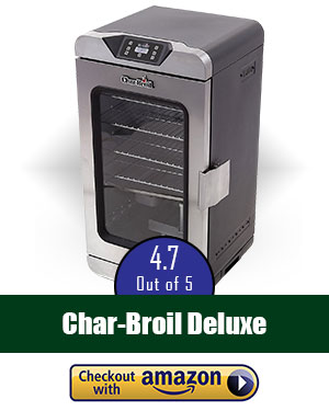 Best Electric Smoker For Beginners: Char-Broil Deluxe Digital
