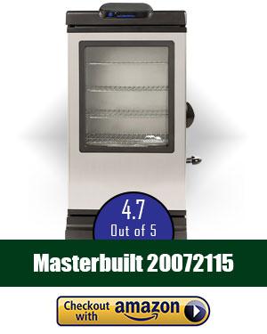 Smart Electric Smoker: Masterbuilt 20072115 30-Inch