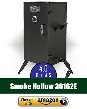 Smoke Hollow 30162E Electric Smoker, 30 Inch with Adjustable Temperature Control