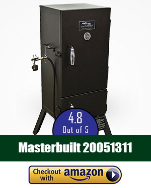 The Best Gas Smoker Overall: Masterbuilt 20051311-GS30D Double Door Propane Smoker