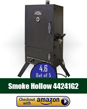 Smoke Hollow 44241G2 44-Inch Vertical Propane Gas Smoker