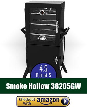 Smoke Hollow 38205GW 38-Inch Propane Gas Smoker