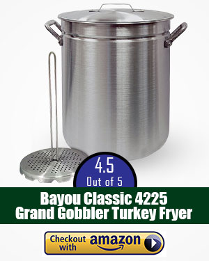 best turkey fryer: Need to cater for the whole family? This might be the best option!