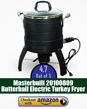 best turkey fryer: Looking for an electric fryer? This is surely a good choice