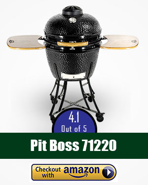 pit boss grill review: A great kamado grill from Pit Boss