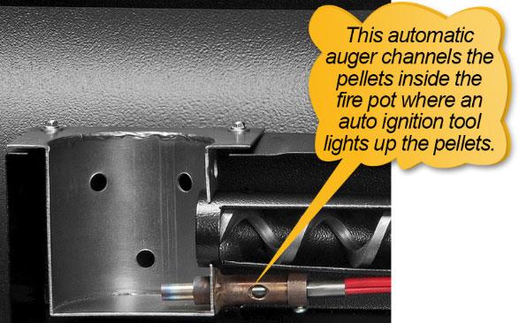 Traeger Pellet Grills BBQ155.01: automatic auger