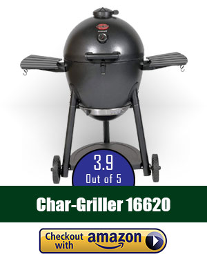 Char-Griller 16620 Akorn Kamado Kooker Charcoal Barbecue Grill and Smoker