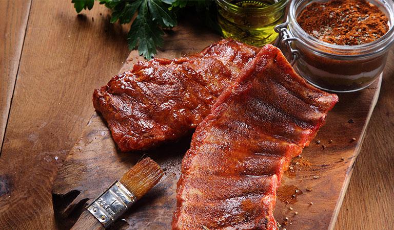 pork ribs: