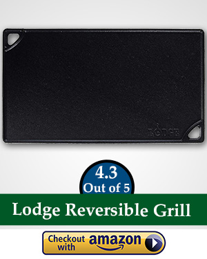 flat top gas griller: Lodge LDP3 Reversible Grill/Griddle