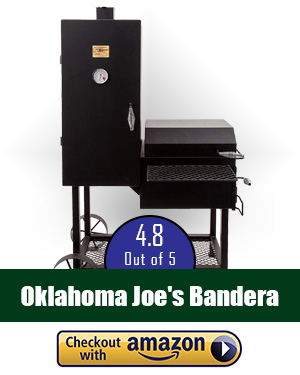 Oklahoma Joe smoker review: Oklahoma Joe's Bandera Offset Smoker - a smoker that deserves your attention