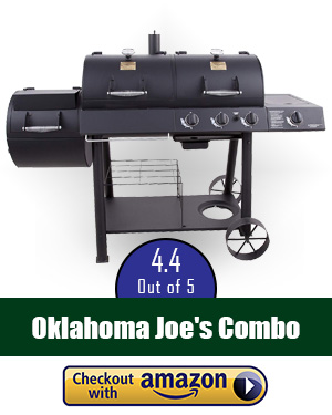 Oklahoma Joe smoker review: Oklahoma Joe's Charcoal/LP Gas/Smoker Co - Try this combo!