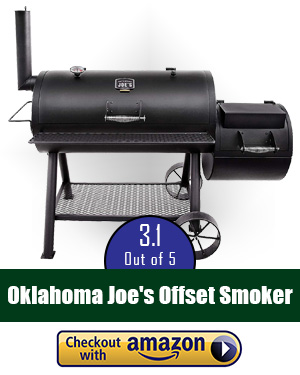 Oklahoma Joe smoker review: Oklahoma Joe's Longhorn Offset Smoker