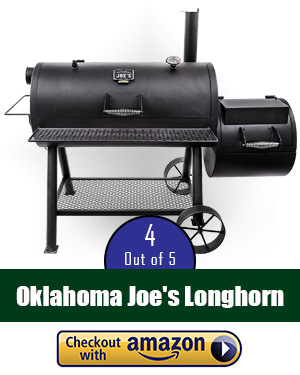 Oklahoma Joe smoker review: Oklahoma Joe's Longhorn Reverse Flow Smoker