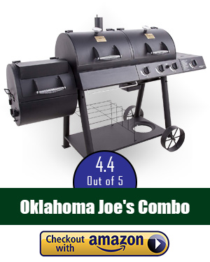 best offset smoker: Oklahoma Joe's LP Gas/Charcoal Smoker Combo - the best combo you'll find